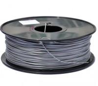 HobbyKing 3D Filament Printer 1,75 milímetros PLA 1KG Spool (prata metálico)