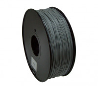 HobbyKing 3D 1,75 milímetros Filament Printer PLA 1KG Spool (mudança de cor - cinza com branco)