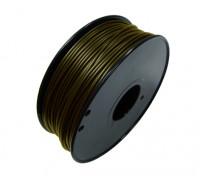 HobbyKing 3D Filament Printer 1,75 milímetros de Metal Composite 0.5KG Spool (Bronze)