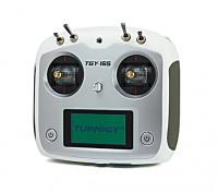 Turnigy TGY-i6S Digital sistema proporcional Radio Control (Modo 1) (Branca)