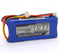 Turnigy 1450mAh 3S 11.1v Transmissor Lipoly pacote