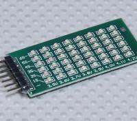 Indicador de tensão Balance LED 2-6S