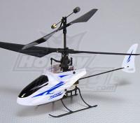2.4Ghz Micro Coax helicóptero 4 canais (RTF - Dual Mode TX)