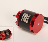 Turnigy T600 Brushless Outrunner para 600 Heli (880kv)