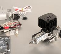 Turnigy motor de gás 30cc w / CDI ignição eletrônica e Genuine Walbro carburador