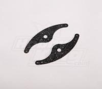 Fibra de Carbono servo braço 110 milímetros (2pcs / bag)