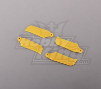 450 Tamanho Cauda Lâmina Heli Amarelo (2pairs)