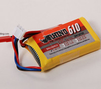 Rhino 610mAh 7.4V 2S 20C Lipoly pacote