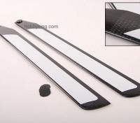 600 milímetros de fibra de carbono TIG Z-Weave principal Blades