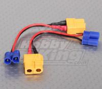 XT60 para EC2 Losi carregamento adaptador (2pcs / bag)