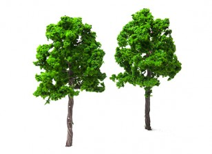 HobbyKing™ 140mm Scenic Wire Model Trees 16090-W140 (2 pcs)