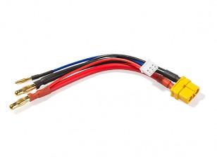 XT60 plug Arreios para 2S Hardcase Lipo (1pc)