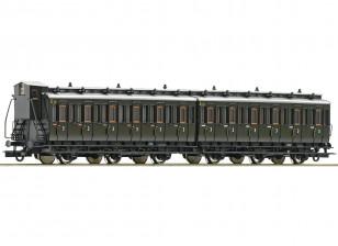 Roco/Fleischmann HO Scale 3 Axle 3rd Class Passenger Carriage Set DRG