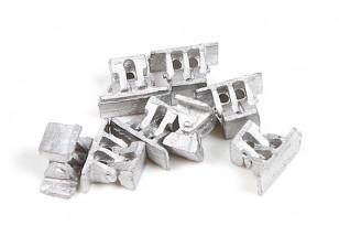Micro Engineering HO Scale Bridge Shoes 8pcs (80-034)