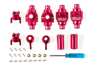 Upgrade/Spare Part Aluminum Axle Housing Set - OH35P01 1/35 Rock Crawler Series