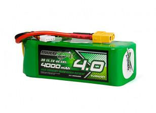 Multistar High Capacity 4000mAh 3S 12C Multi-Rotor Lipo Pack w/XT60