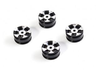 High Mass Beadlock 5 Spoke Rim (w/brake pads) (4pcs) - OH35P01 OH35A01 1/35 Scale Rock Crawler Kit