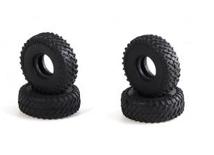 Big Block Tires Ver 2 (4 pcs) - OH35P01 OH35A01 1/35 Rock Crawler Kit