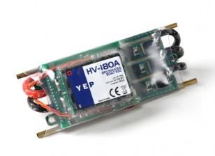 Hobbyking YEP 180A HV (4 14S ~) Marinha Brushless Speed Controller (Opto)
