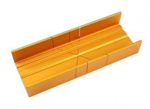 Zona Fina Slot de alumínio Miter Box