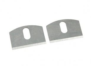 Zona Precision Falou Shave substituição lâminas (2pcs)