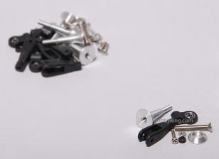 Extra Forte Controle Horns w / Bearing 24 milímetros (5sets)
