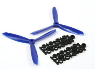 5045 x 3 Hélices Elétrica (CW e CCW) Blue 1 par / saco