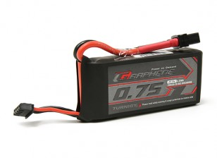 Turnigy Grafeno 750mAh 3S 65C Lipo Pack (chumbo Short)