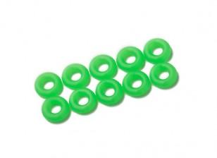 O-ring Kit 3mm (verde de néon) (10pcs / saco)