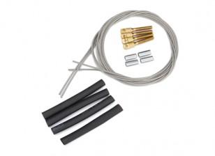 Puxe / Pull Steel Wire Set Control - 1,3 milímetros