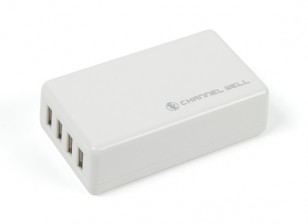 USB 4Port 25W / 5A Carregador (os EUA)