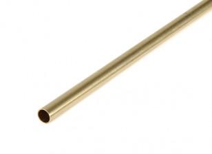 "K&S Precision Metals Brass Round Stock Tube 1/4"" OD x 0.014 x 36"" (Qty 1)"