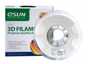ESUN 3D Filament Printer naturais 1,75 milímetros eMate 0.5KG Spool
