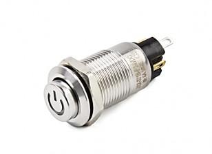 interruptor 12 milímetros de metal
