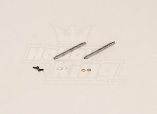 GT450PRO Feathering eixo (51x4mm) 2pcs