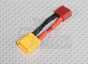 Homem XT60 <-> Fêmea T-Connector (1pc / saco)