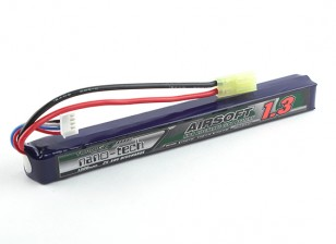 Turnigy nano-tecnologia 1300mAh 3S 25 ~ 50C Lipo AIRSOFT pacote