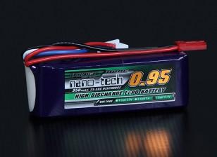 Turnigy nano-tecnologia 950mAh 3S 25 ~ 50C Lipo pacote
