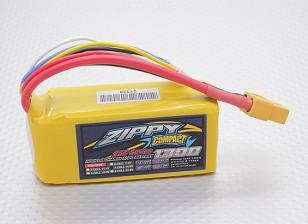 ZIPPY Compact 1300mAh 4S 25C Lipo pacote