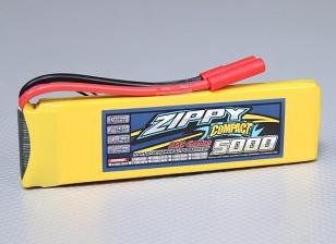 ZIPPY Compact 5000mAh 2S 25C Lipo pacote