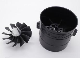Unidade EDF Ducted Fan 12 Blade-High Performance 90 milímetros
