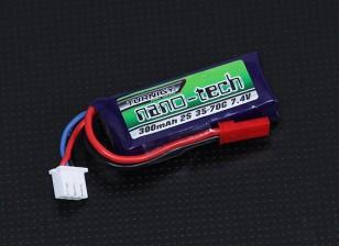 Turnigy nano-tecnologia 300mAh 2S 35 ~ 70C Lipo pacote