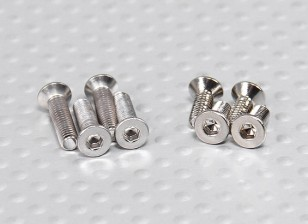 Turnigy Talon V2 Screw Set (4pcs M3 x 12, 4pcs M3 x 8)