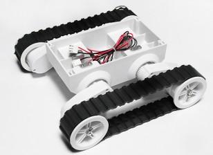 Rover 5 lagartas do robô Chassis Sem Encoder