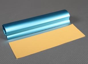 Heavy Duty Alloy 10in Multi-perfil Mão Sander (azul)