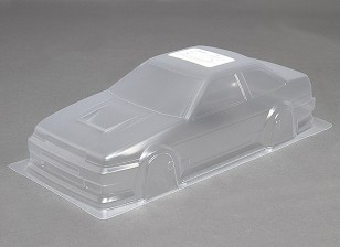1/10 DR86 Unpainted Car Shell corpo w / decalques