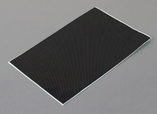 Folha de Auto-adesivo Decal - Carbon Fiber Olhe
