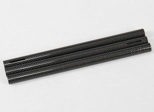 Turnigy Talon Tricopter (V1.0) - Fibra de Carbono Tubo (3pcs)