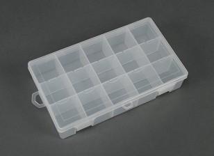 Plastic Multi-Purpose Organizer - Large 15 Compartimento