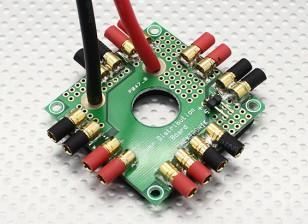 Placa de distribuição passatempo Rei Octocopter Poder